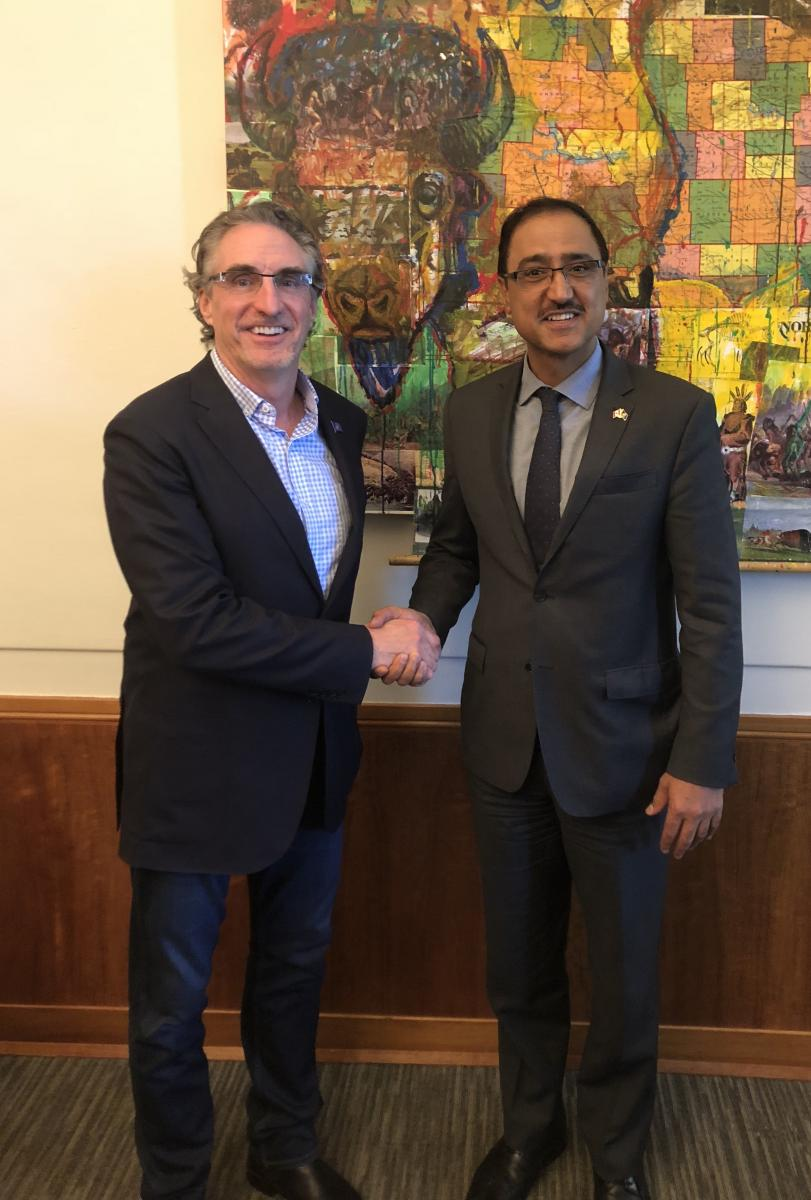 Canada's Minister of Infrastructure and Communities, Amarjeet Sohi
